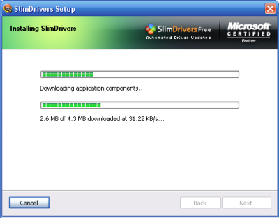 Install SlimDrivers