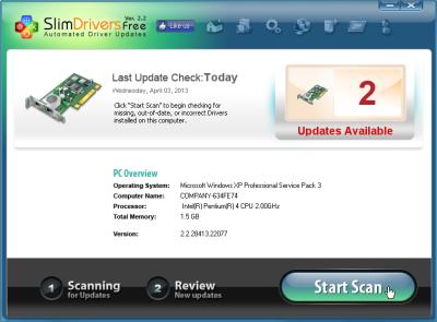 Scan Driver Windows