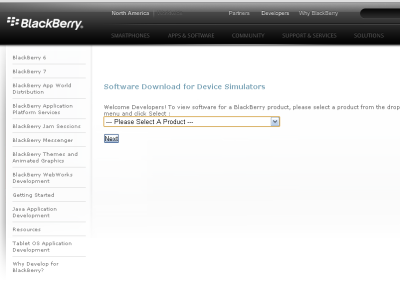 Download Simulator Blackberry