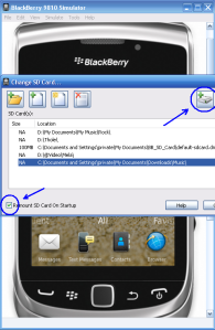 Transfer File Simulator BlackBerry