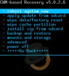 Backup Nandroid
