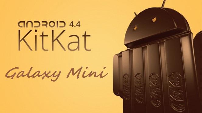 Galaxy Mini KitKat